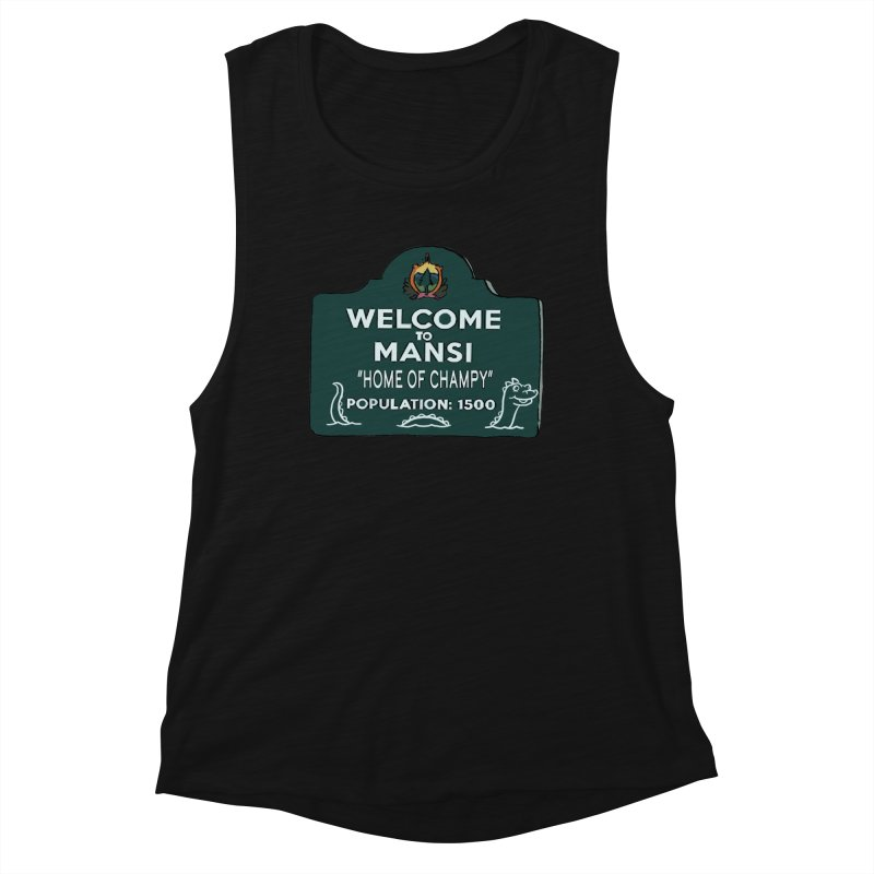 Welcome To Mansi Women's Tank by Official Creepshow Store