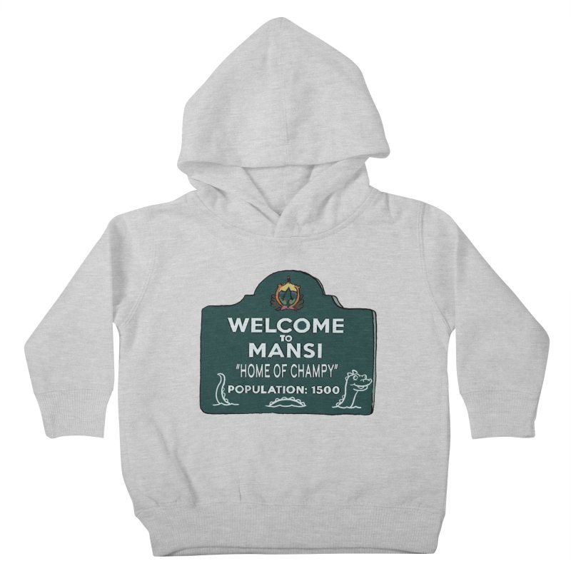 Welcome To Mansi Kids Toddler Pullover Hoody by Official Creepshow Store