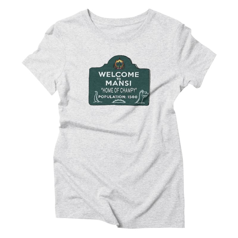 Welcome To Mansi Women's T-Shirt by Official Creepshow Store