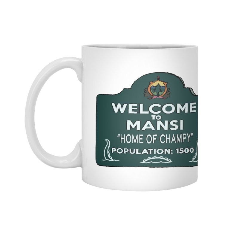Welcome To Mansi Accessories Mug by Official Creepshow Store