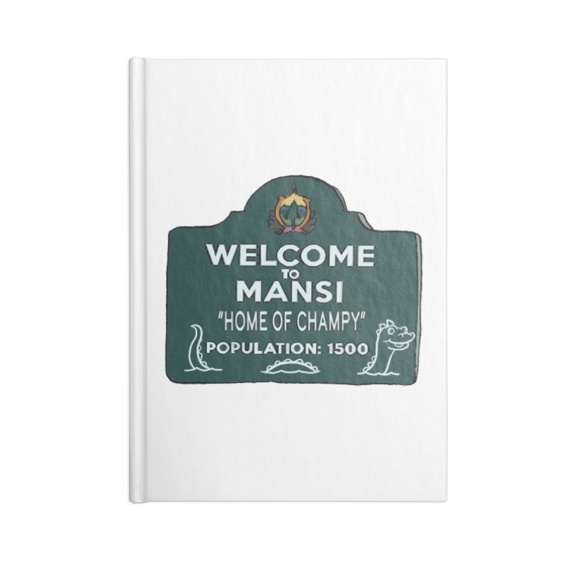 Welcome To Mansi Accessories Notebook by Official Creepshow Store