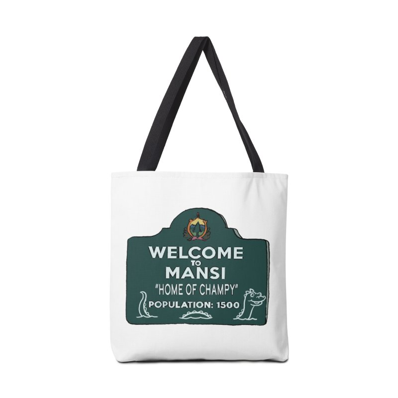 Welcome To Mansi Accessories Bag by Official Creepshow Store