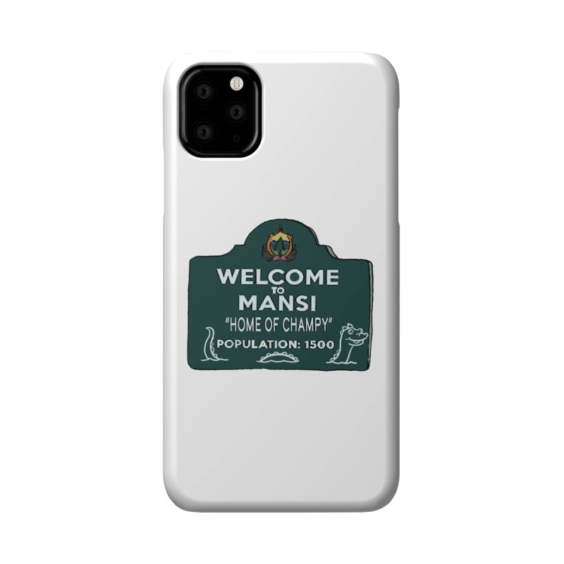 Welcome To Mansi Accessories Phone Case by Official Creepshow Store
