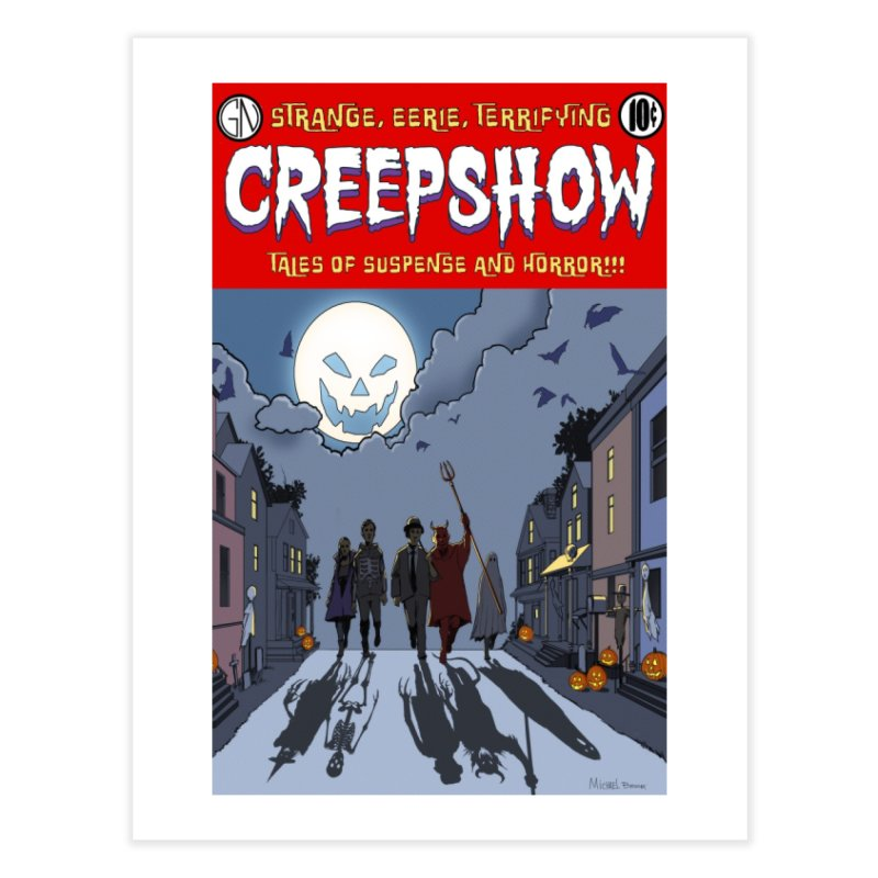 AllHallowsEve Home Fine Art Print by Official Creepshow Store