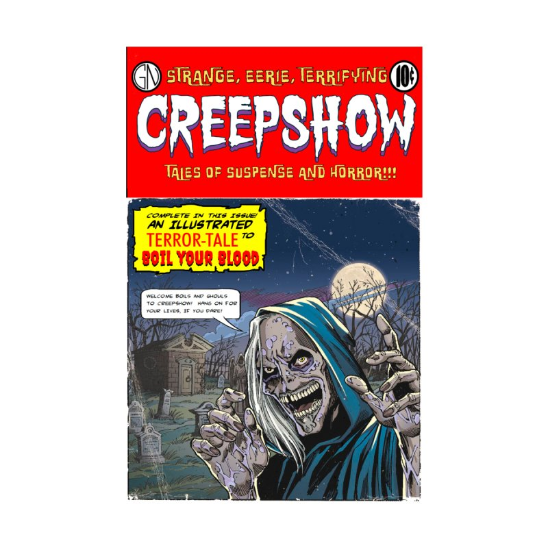New Creep Home Fine Art Print by Official Creepshow Store