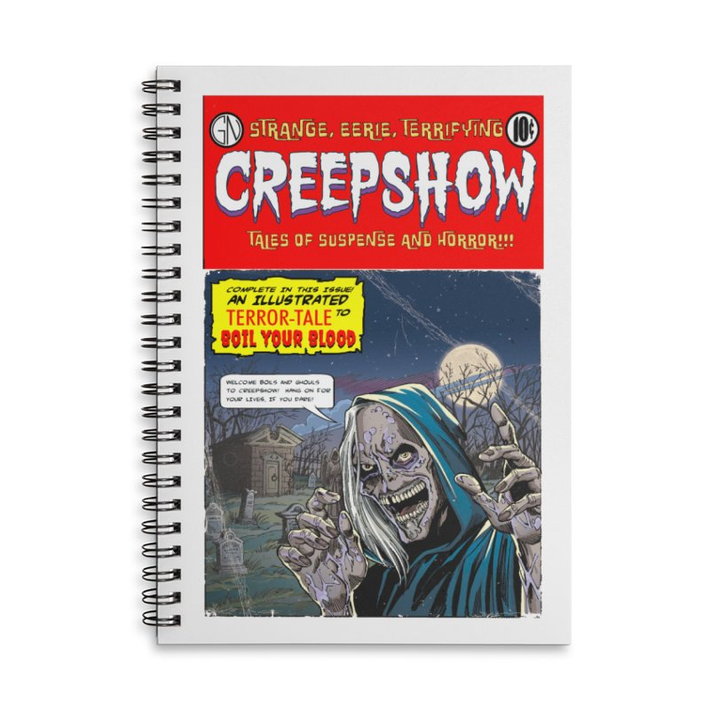 New Creep Accessories Notebook by Official Creepshow Store