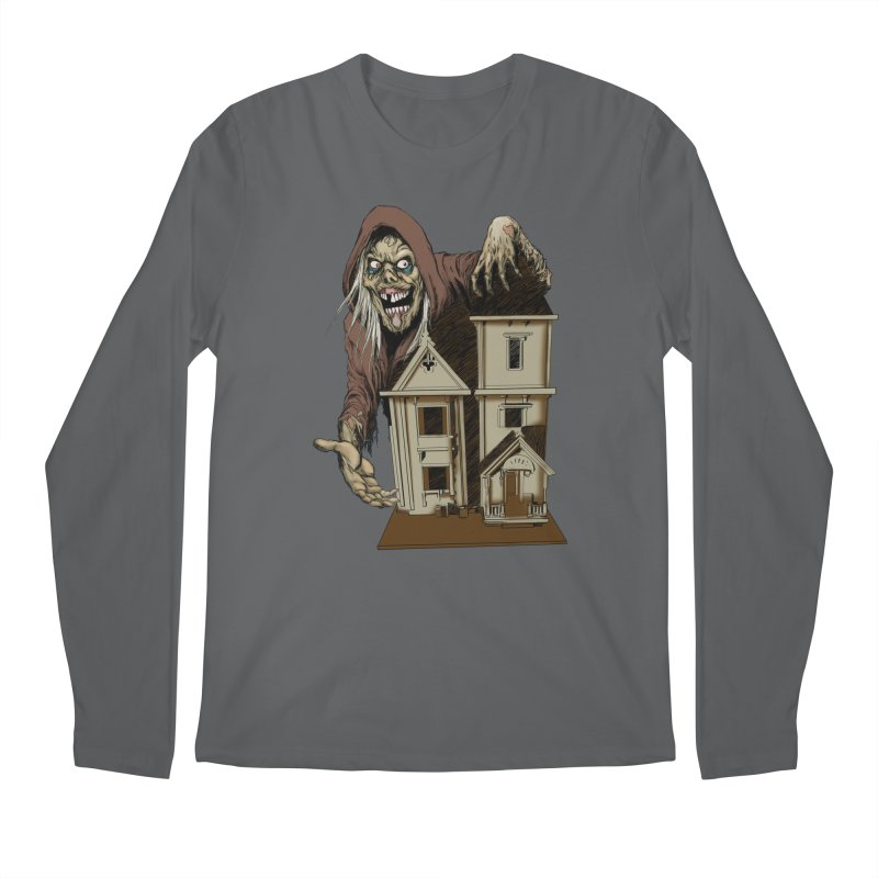 Creep Doll House Men's Longsleeve T-Shirt by Official Creepshow Store