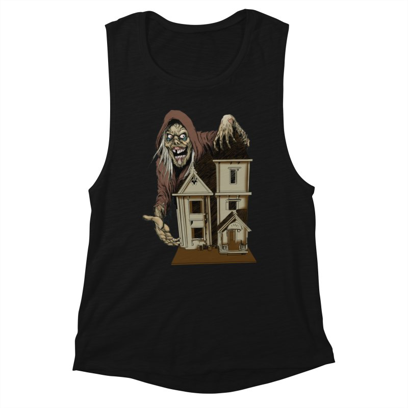 Creep Doll House Women's Tank by Official Creepshow Store