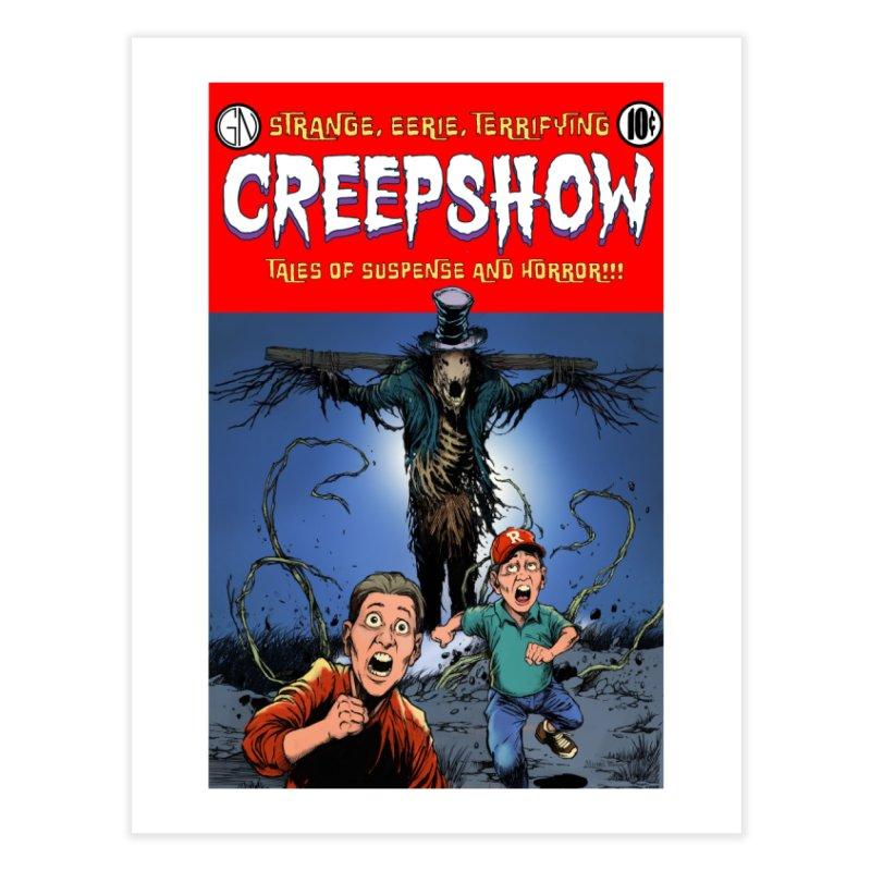 Creepshow Home Fine Art Print by Official Creepshow Store