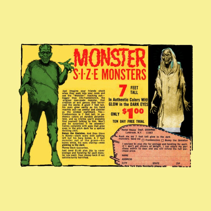 Monster ad Home Blanket by Official Creepshow Store