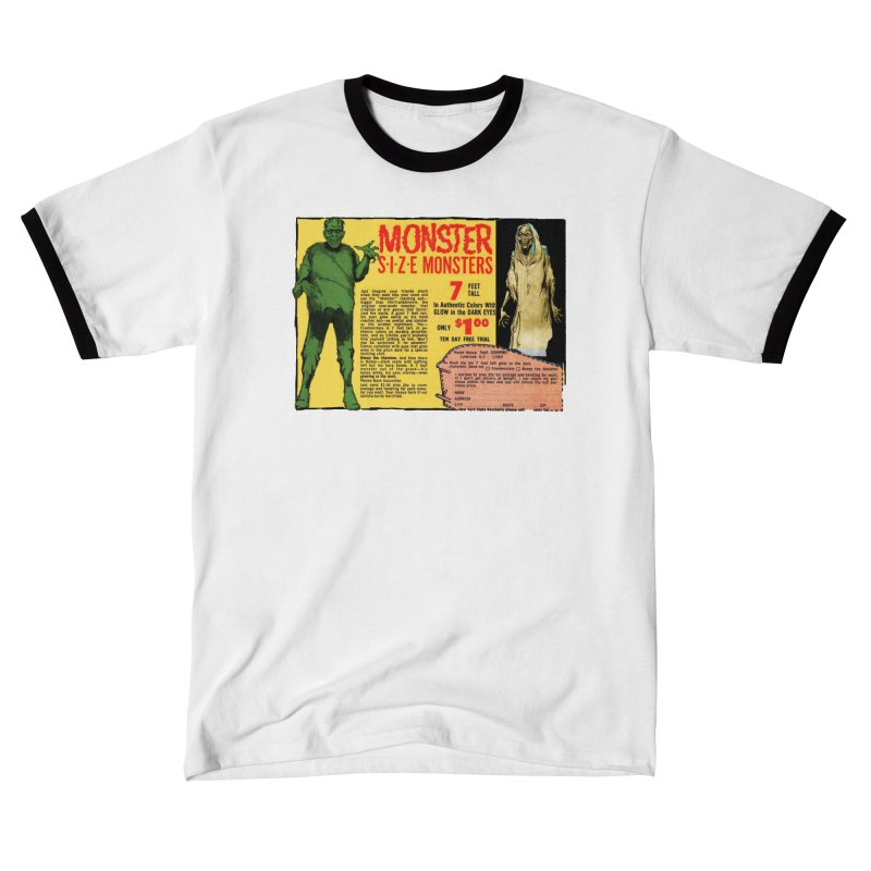 Monster ad Men's T-Shirt by Official Creepshow Store