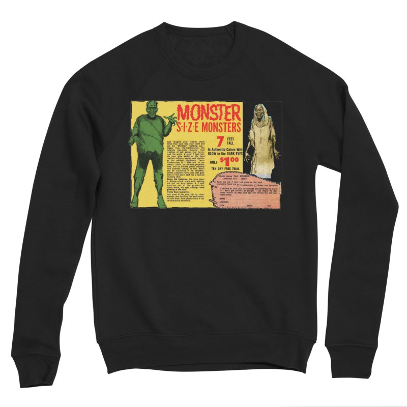 Monster ad Men's Sweatshirt by Official Creepshow Store