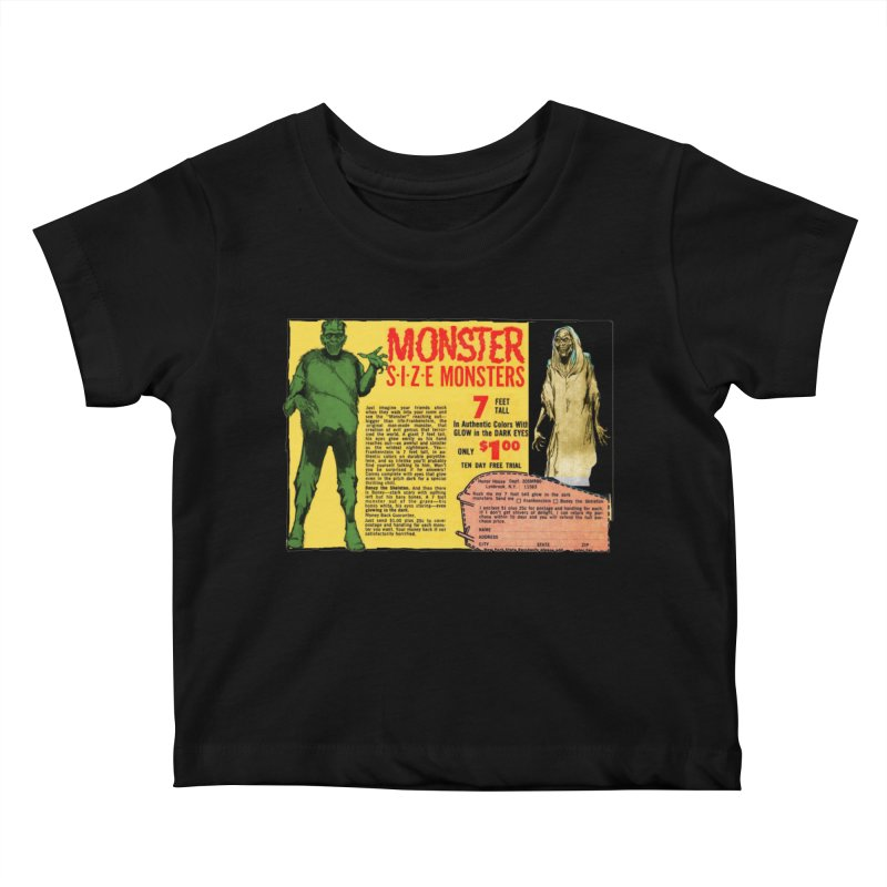 Monster ad Kids Baby T-Shirt by Official Creepshow Store