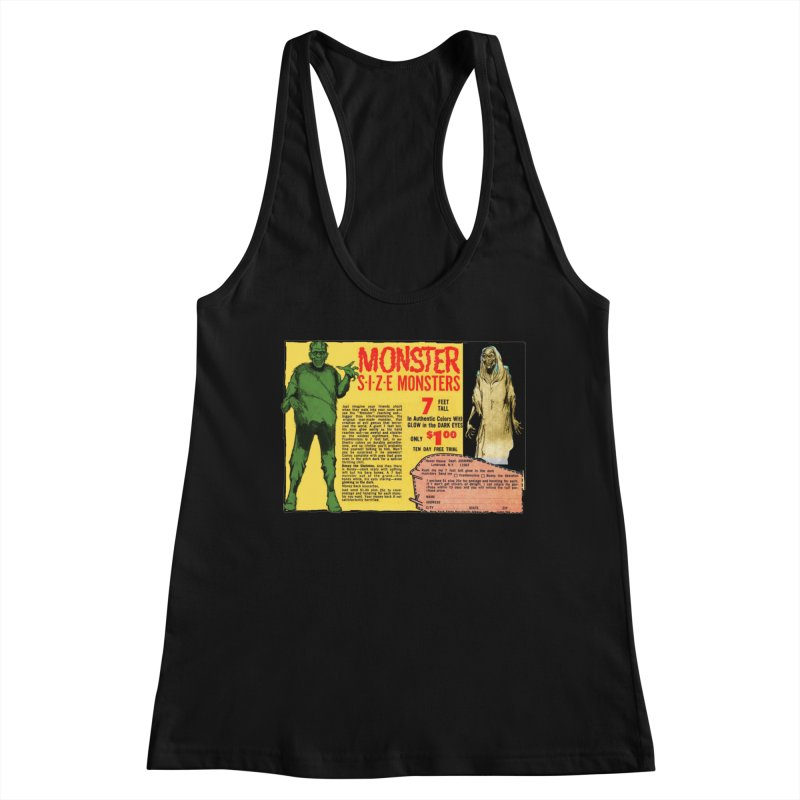 Monster ad Women's Tank by Official Creepshow Store