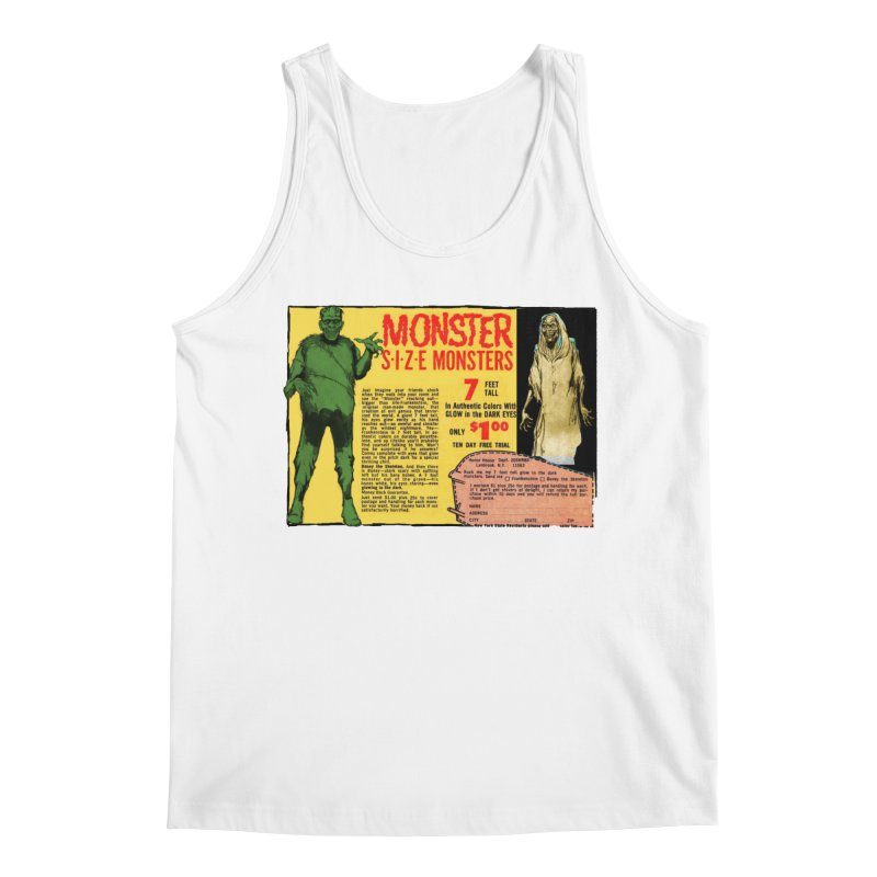 Monster ad Men's Tank by Official Creepshow Store