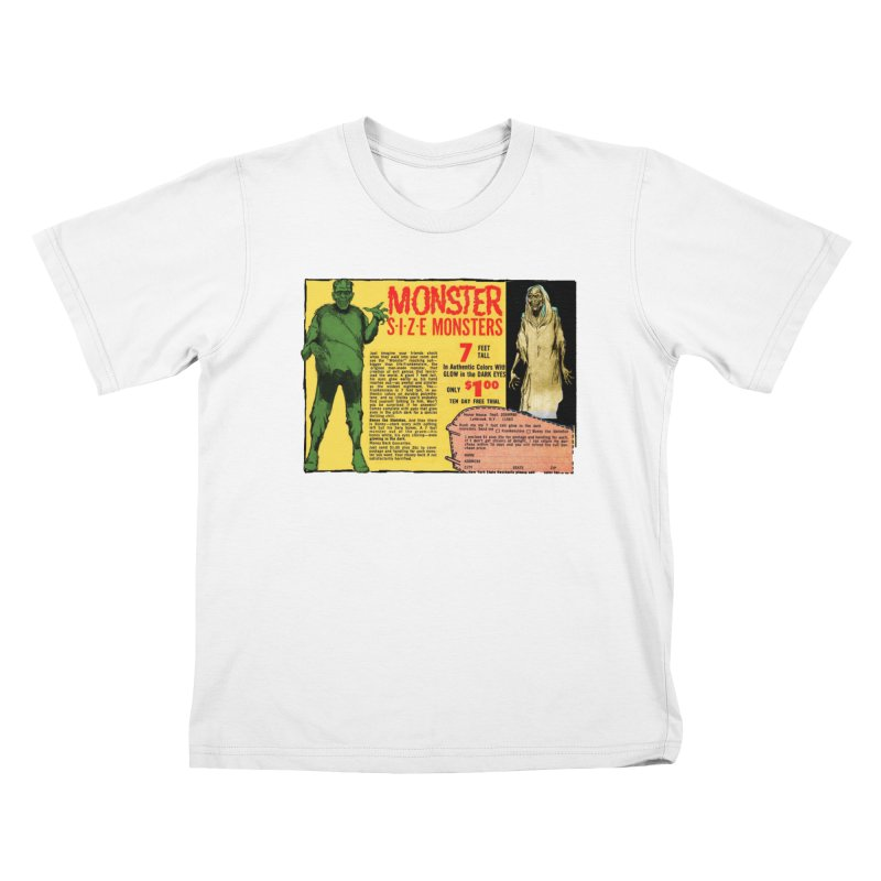 Monster ad Kids T-Shirt by Official Creepshow Store