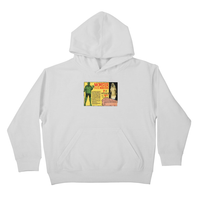 Monster ad Kids Pullover Hoody by Official Creepshow Store