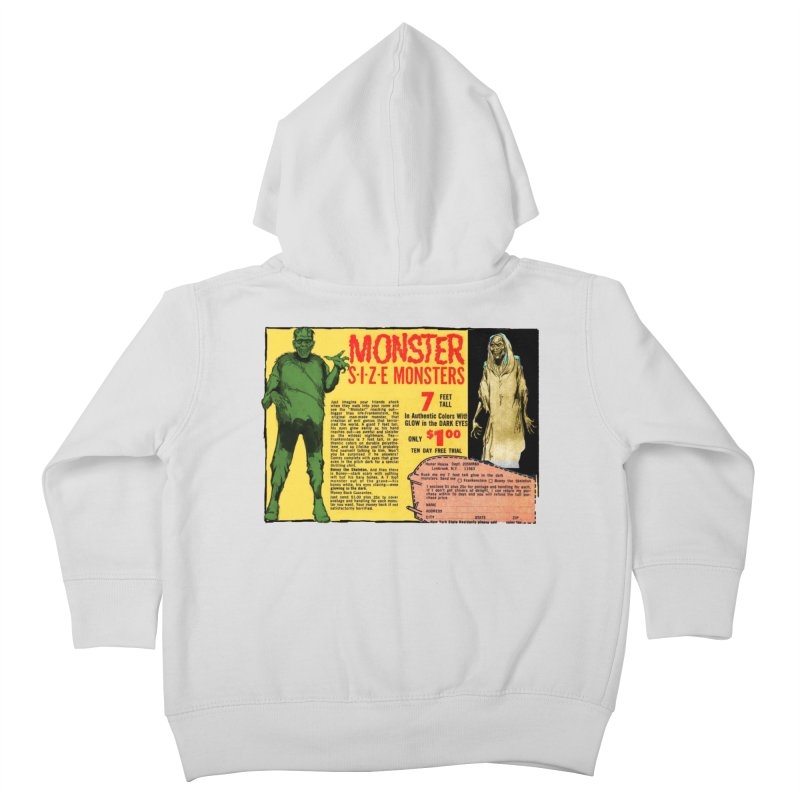 Monster ad Kids Toddler Zip-Up Hoody by Official Creepshow Store