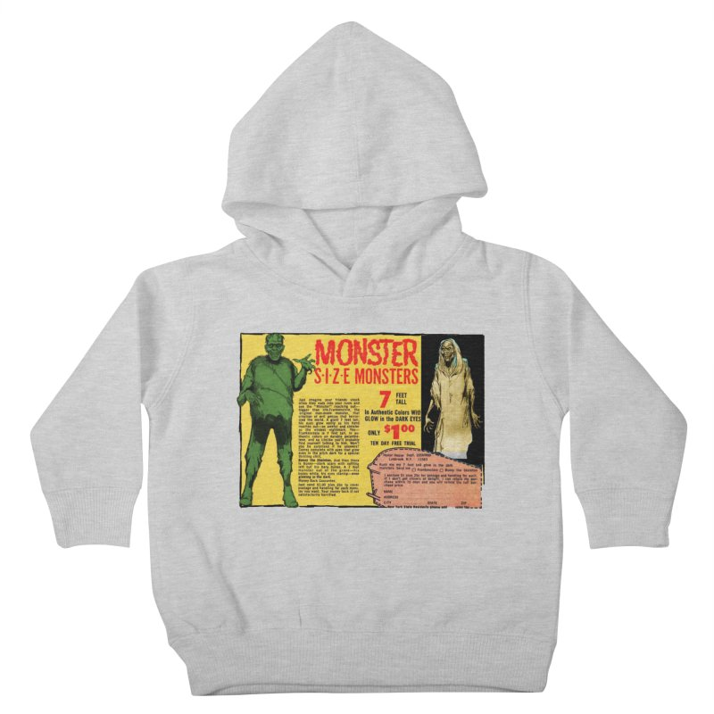 Monster ad Kids Toddler Pullover Hoody by Official Creepshow Store