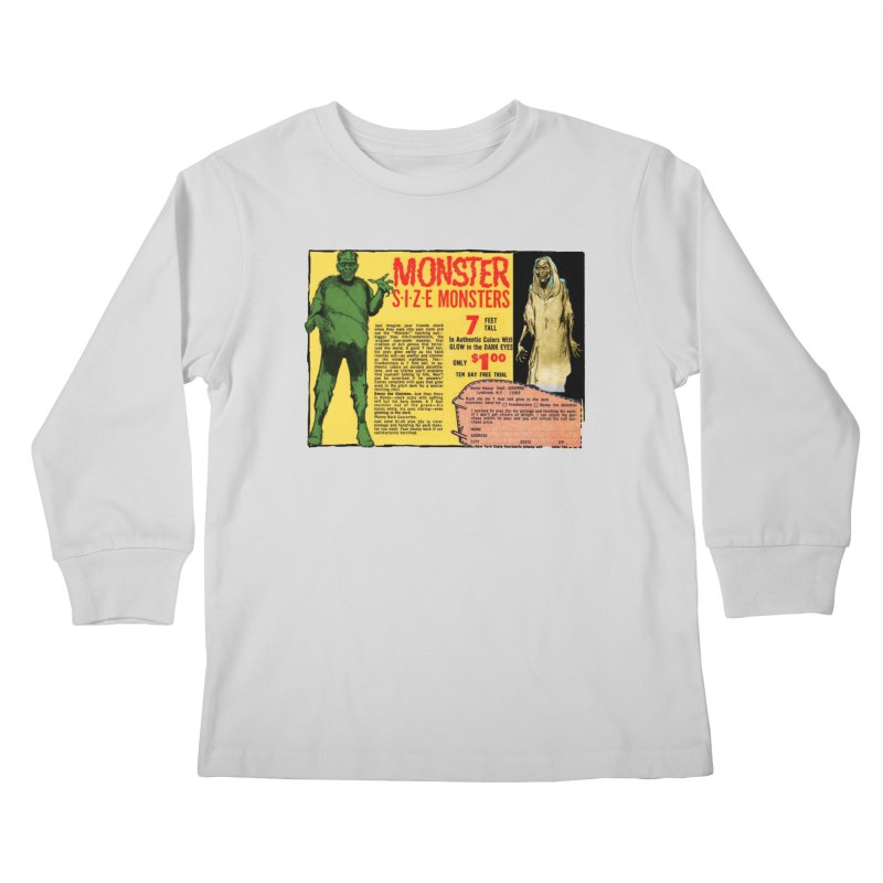 Monster ad Kids Longsleeve T-Shirt by Official Creepshow Store