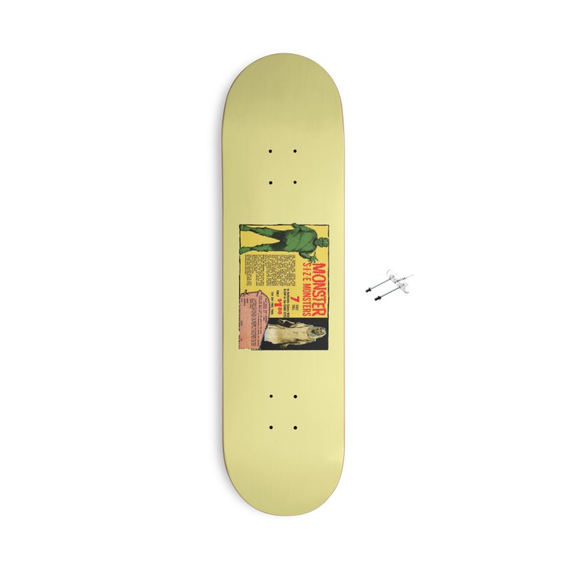 Monster ad Accessories Skateboard by Official Creepshow Store
