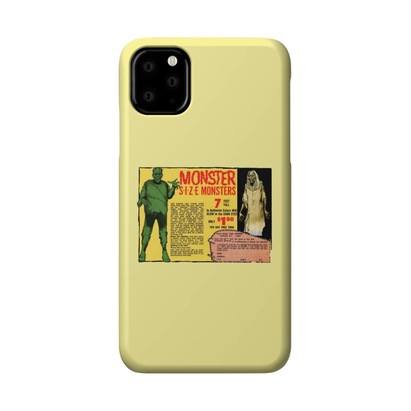 Monster ad Accessories Phone Case by Official Creepshow Store