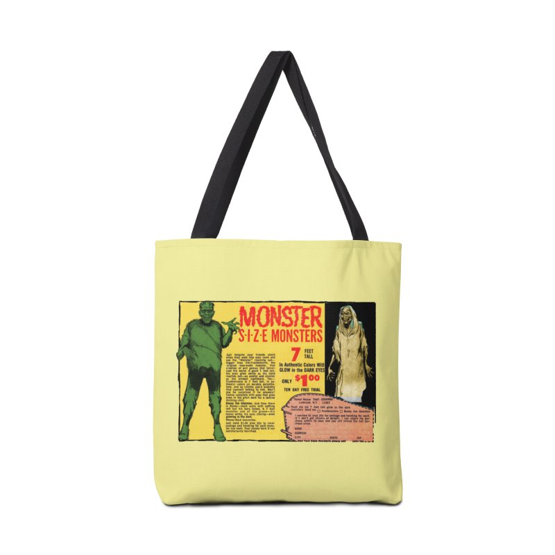 Monster ad Accessories Bag by Official Creepshow Store
