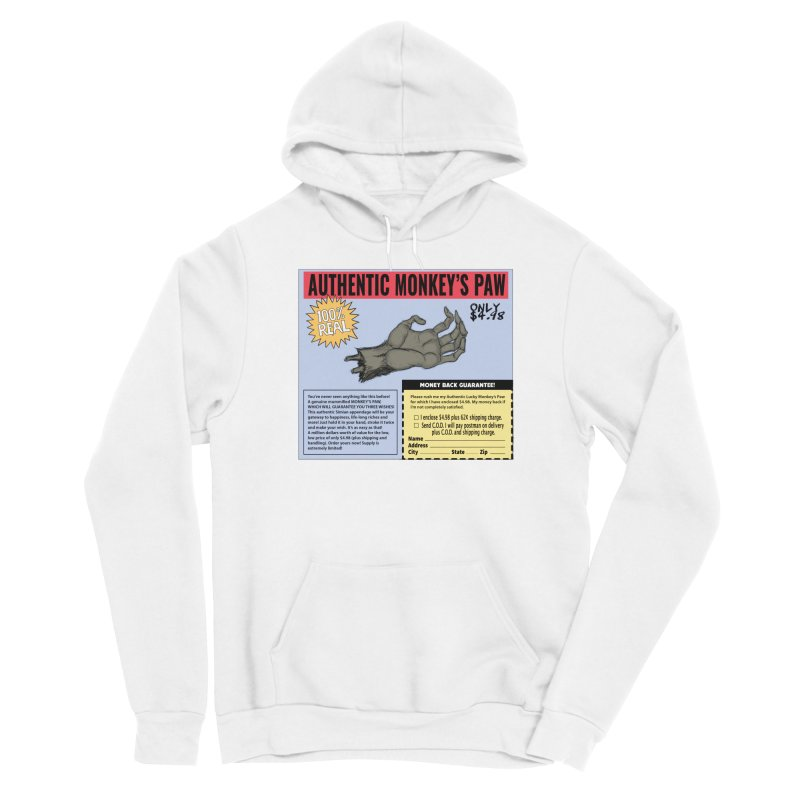 Monkey's Paw ad Men's Pullover Hoody by Official Creepshow Store