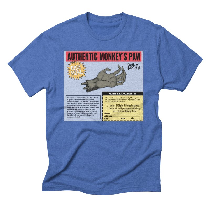 Monkey's Paw ad Men's T-Shirt by Official Creepshow Store