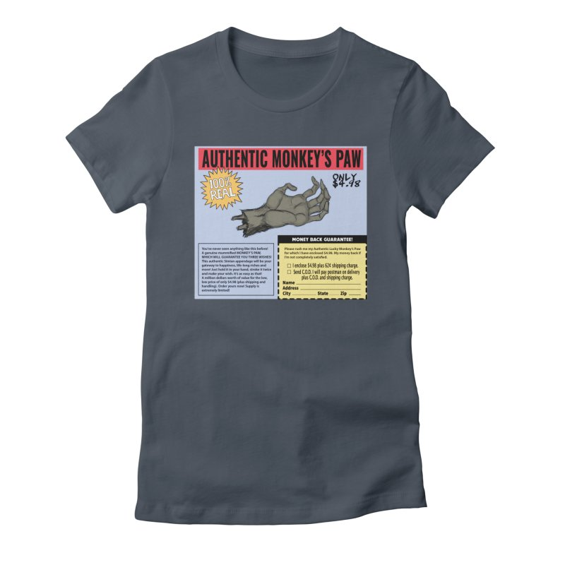 Monkey's Paw ad Women's T-Shirt by Official Creepshow Store