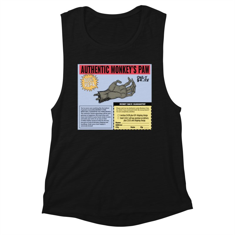 Monkey's Paw ad Women's Tank by Official Creepshow Store