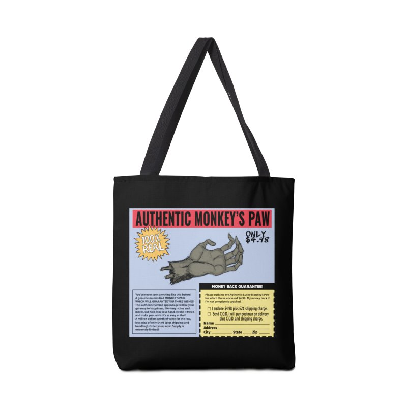 Monkey's Paw ad Accessories Bag by Official Creepshow Store