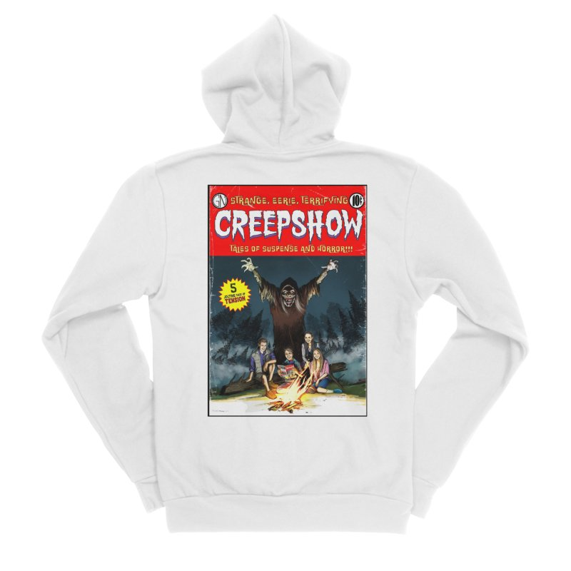 Grizzly Creepshow Women's Zip-Up Hoody by Official Creepshow Store