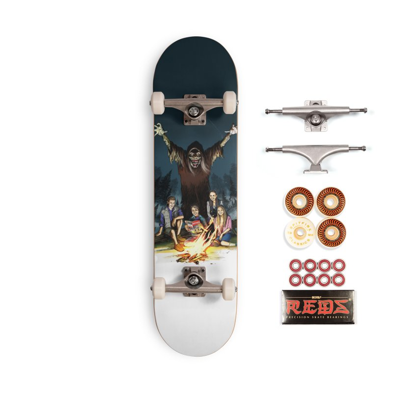 Grizzly Creepshow Accessories Skateboard by Official Creepshow Store