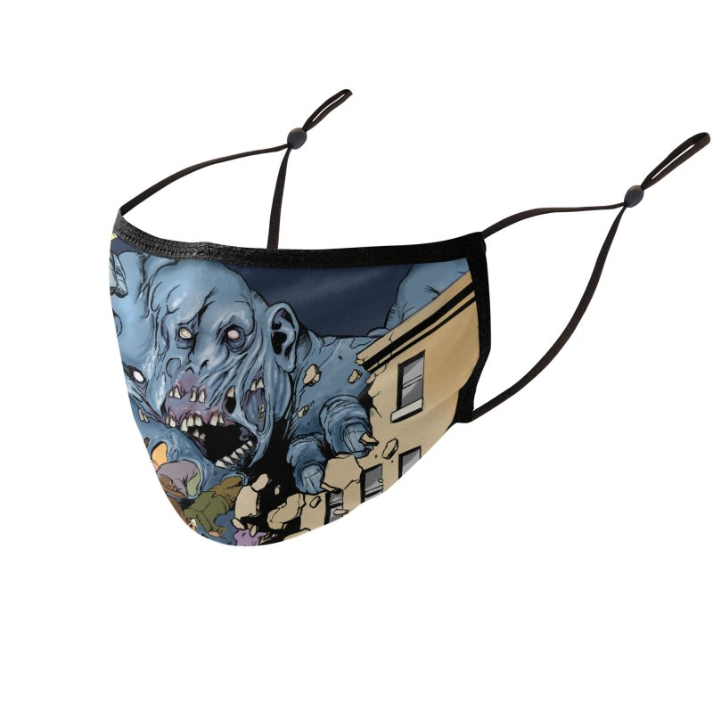 Gray Matter Accessories Face Mask by Official Creepshow Store