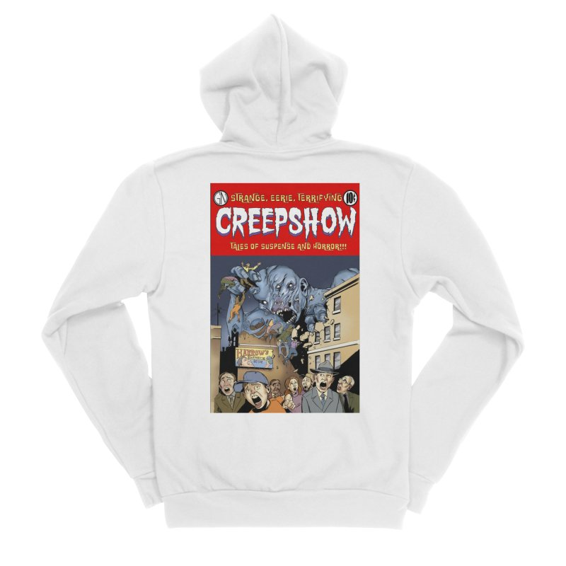 Gray Matter Men's Zip-Up Hoody by Official Creepshow Store