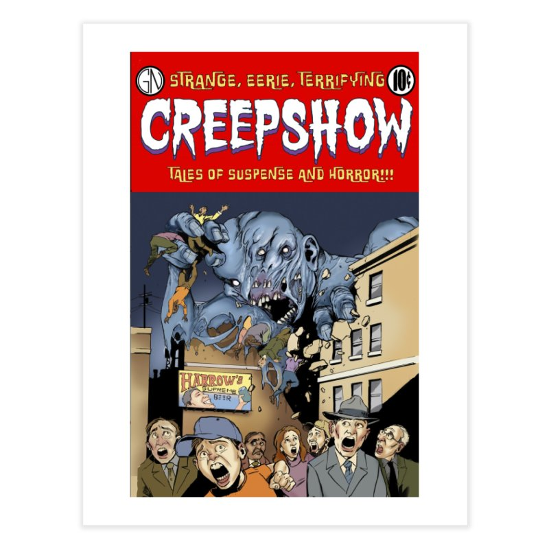 Gray Matter Home Fine Art Print by Official Creepshow Store