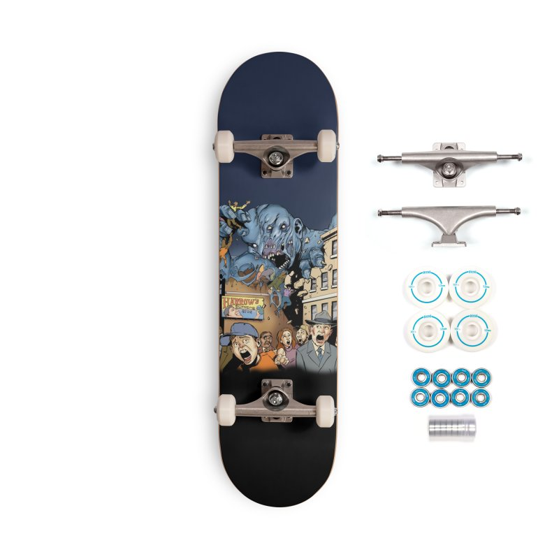 Gray Matter Accessories Skateboard by Official Creepshow Store