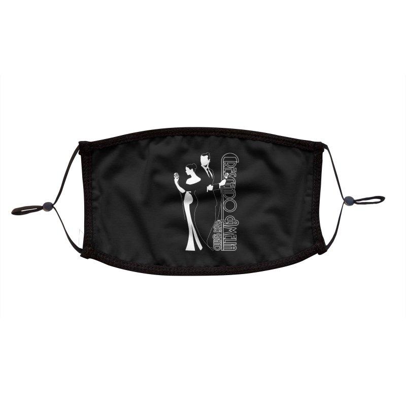 Crescendo Amelia Big Band - Silhouette Accessories Face Mask by Crescendo Amelia Merchandise