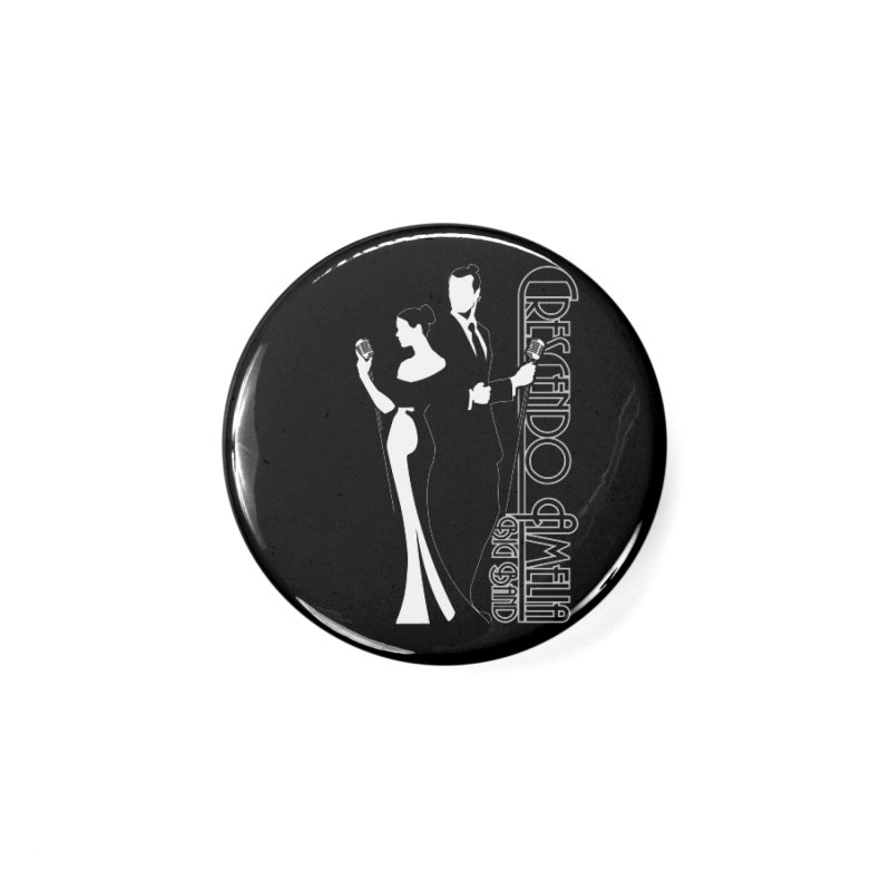 Crescendo Amelia Big Band - Silhouette Accessories Button by Crescendo Amelia Merchandise