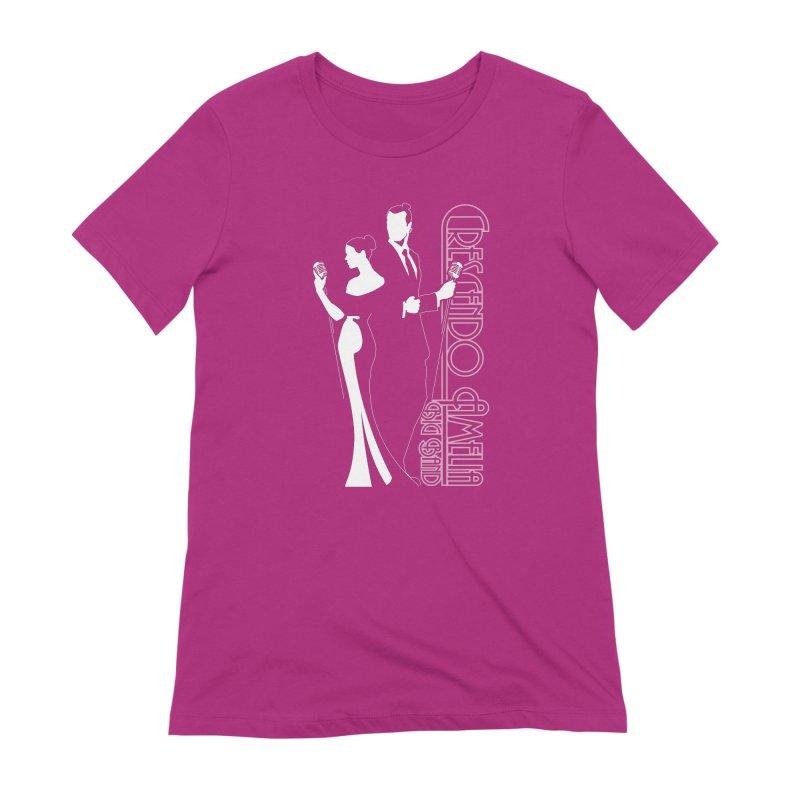 Crescendo Amelia Big Band - Silhouette Women's T-Shirt by Crescendo Amelia Merchandise