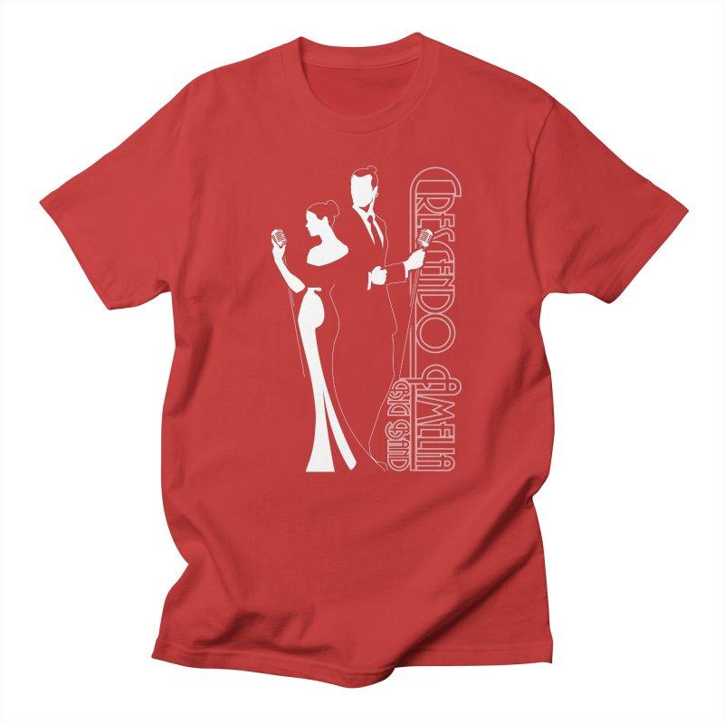 Crescendo Amelia Big Band - Silhouette Men's T-Shirt by Crescendo Amelia Merchandise