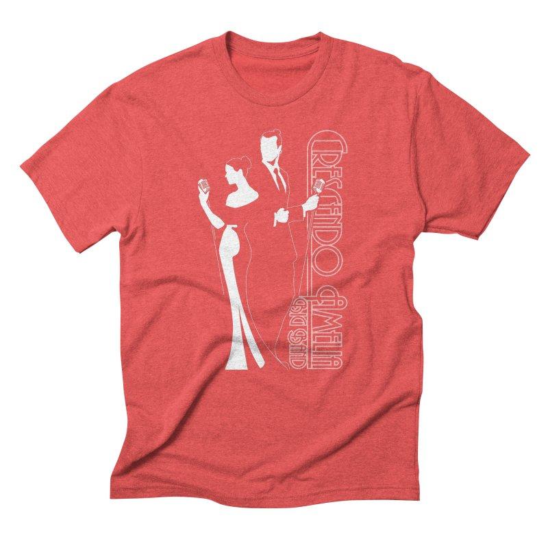 Crescendo Amelia Big Band - Silhouette Men's Triblend T-Shirt by Crescendo Amelia Merchandise