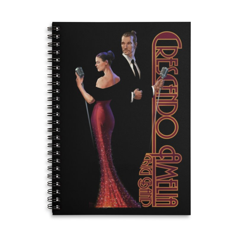 Crescendo Amelia Big Band - Reed & Marah Accessories Notebook by Crescendo Amelia Merchandise