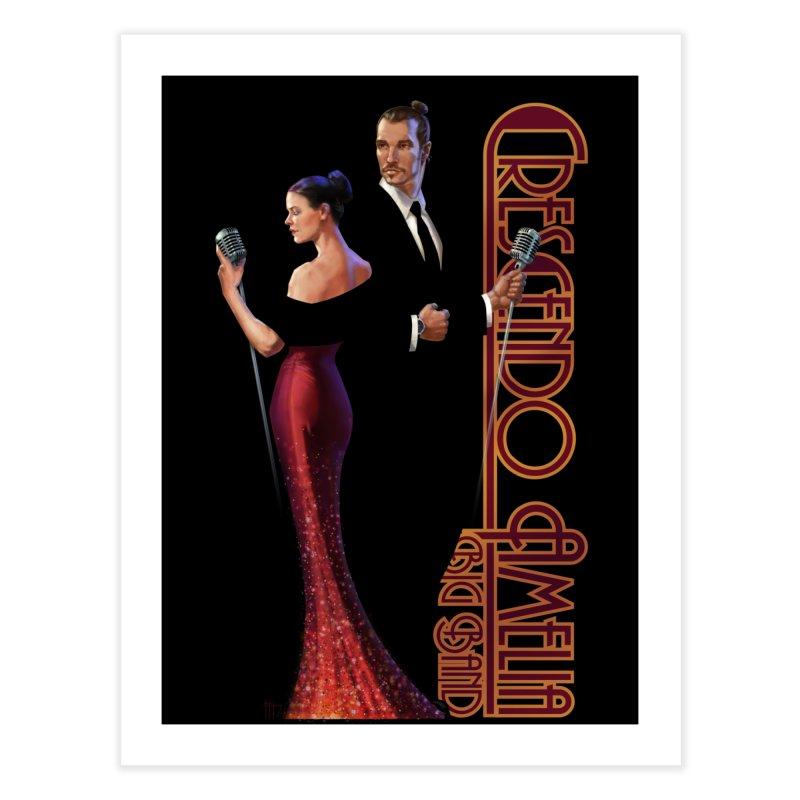 Crescendo Amelia Big Band - Reed & Marah Home Fine Art Print by Crescendo Amelia Merchandise