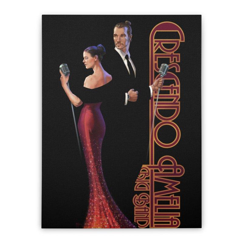 Crescendo Amelia Big Band - Reed & Marah Home Stretched Canvas by Crescendo Amelia Merchandise