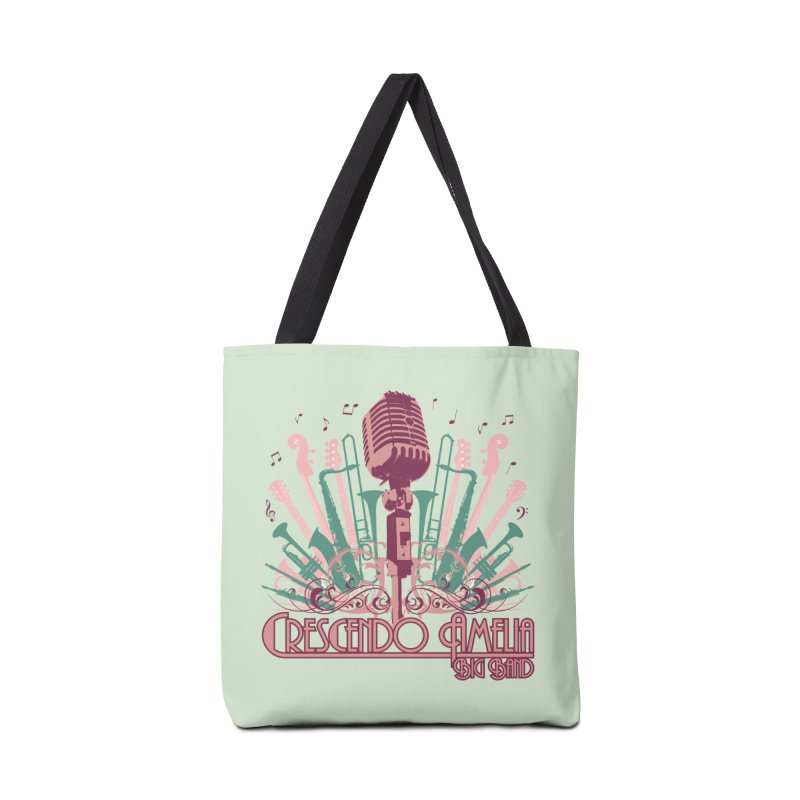 Crescendo Amelia Big Band - Microphone Pink Accessories Bag by Crescendo Amelia Merchandise
