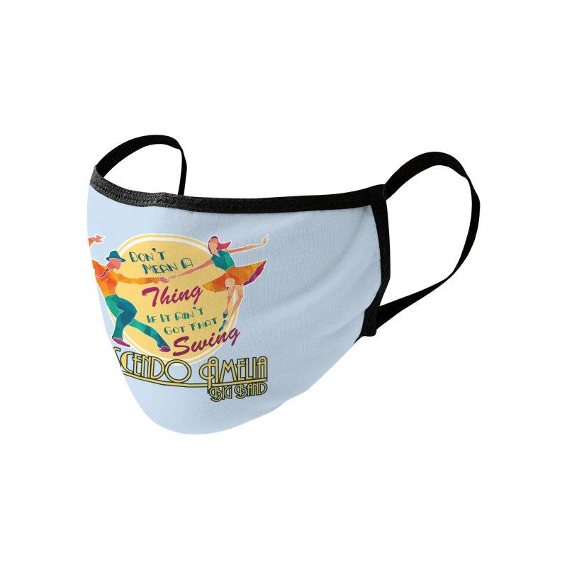 Crescendo Amelia Big Band - Swing Accessories Face Mask by Crescendo Amelia Merchandise
