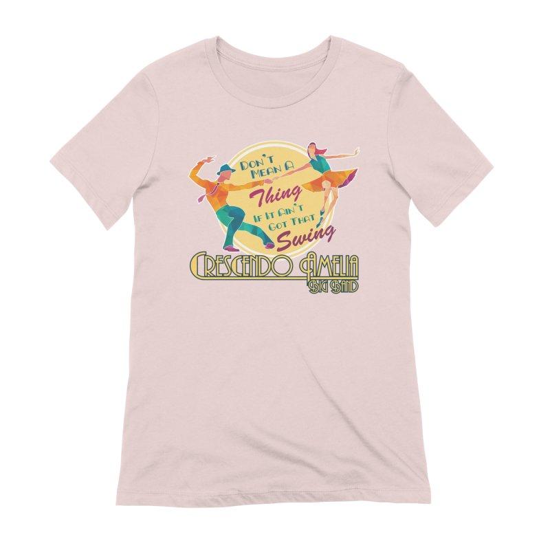 Crescendo Amelia Big Band - Swing Women's T-Shirt by Crescendo Amelia Merchandise