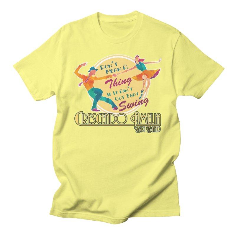 Crescendo Amelia Big Band - Swing Men's T-Shirt by Crescendo Amelia Merchandise